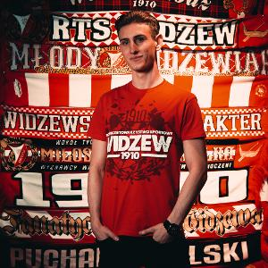 T-SHIRT HERB WIDZEW BASIC M